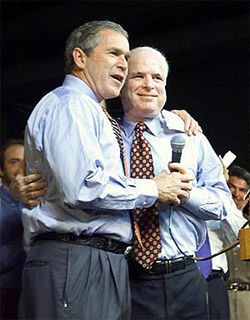 """The surge McCain and Bush have backed has cost the U.S. $10 billion a month and at least another 600 American lives."" — John Adams, Retired Army Brigadier General and Chairman of Arizona Veterans for Obama"
