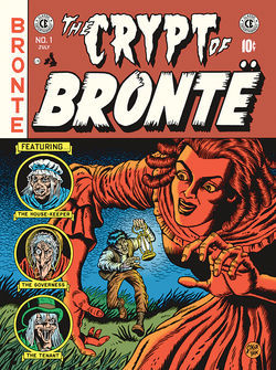 The Crypt of Bronte by R. Sikoryak