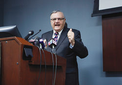 Sheriff Joe: A grotesque symptom of Maricopa County's disease of anti-Mexican bigotry, not the disease itself.