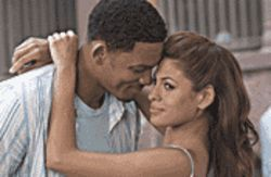 Calling Dr. Love: Will Smith (with Eva Mendes) tries to help other people find romance in Hitch.