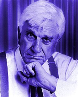 Leslie Nielsen in Clarence Darrow: A One-Man Play.