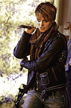 If looks could kill: Keira Knightley is a model turned bounty hunter in Domino.
