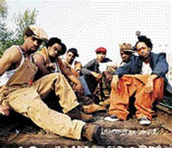 No joke: The six members of Nappy Roots didn&#039;t initially believe Atlantic Records wanted to sign them.