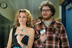 Elizabeth Banks and Seth Rogen fake it until they make it in Zack and Miri Make a Porno.