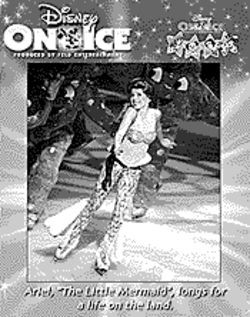 Ice princess: Disney hits the rink.
