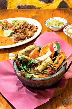 La Barquita&#039;s authentic Mexican dishes come from family recipes.
