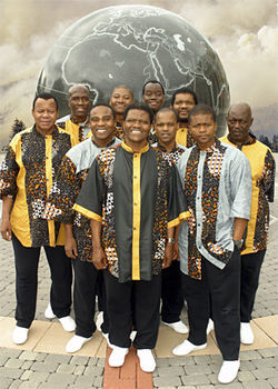 "Ladysmith Black Mambazo: ""Tip-toe guys."""