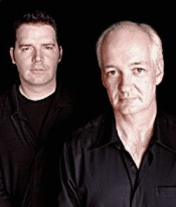 Just the two of us: Brad Sherwood and Colin Mochrie.