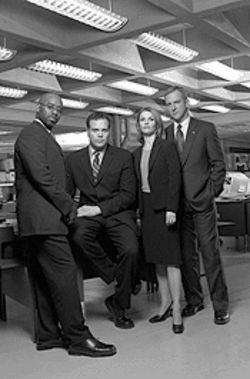 Crime and punishment, redux: Vincent D'Onofrio heads the cast of Law & Order: Criminal Intent, one of the fall season's best new shows.