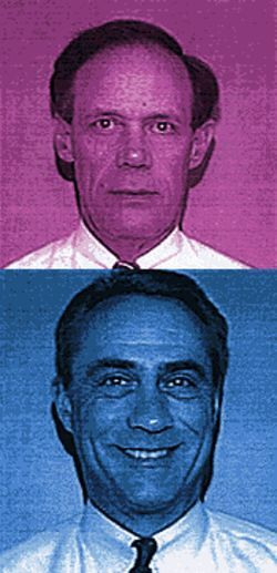 TOP: Jay Ozer, longtime Arthur Andersen partner, was involved with American Continental audits.   BELOW: Jack Henry, Arthur Andersen's managing partner, opted for an early retirement.