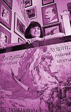 &quot;The Revolution in Print: Russian Political Posters From the Elinor Fagan Collection&quot; will run with &quot;Painting Revolution: Kandinsky, Malevich and the Russian Avant Garde&quot; through July 2 at Phoenix Art Museum, 1625 North Central Avenue. Mary Statzer, who curated the poster exhibition for the museum, will discuss the works on May 25 at noon and 7 p.m. Elinor Fagan will give a talk about her collection on  June 1 at the same times. For more information, call 602 257-1880.
