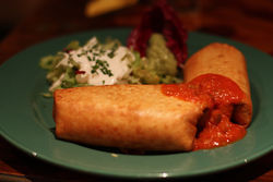 The chimichanga