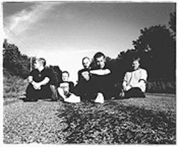 Scotland's Mogwai: Middle of the road -- physically and musically.