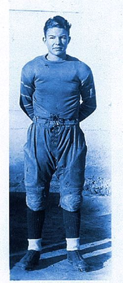 David Murdock played football in the mid-1930s for the University of Arizona.