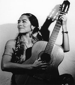 Latin flavor: Lila Downs gets creative with Mexican rancheras.