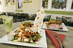 Be sure to bring a big appetite to Local Breeze, where the portions are huge.
