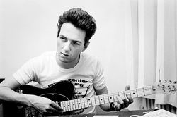 The late Joe Strummer