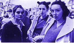 From left, Shirley Henderson, Gina McKee and Molly Parker are sisters in Michael Winterbottom's meandering, hopeful Wonderland.