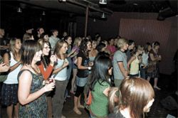 "A rock show at OnePlace draws a crowd of ""cool kids."""