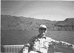 Paul Hewitson at Apache Lake in 1998.