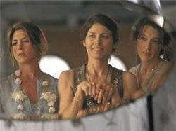 I'll be there for you .  .  .  : From left, Jennifer Aniston, Catherine Keener and Joan Cusack star in Friends With Money.
