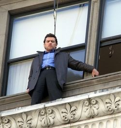 Sam Worthington stars as the titular Man on a Ledge.