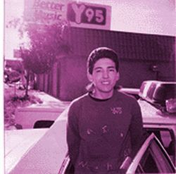 A police shot of Medina as a teenager.
