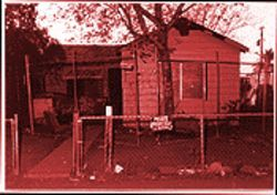 The Eastside LCM gang house on South 13th Place.
