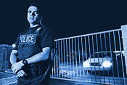 Phoenix Police Detective Derek Stephenson directed the gang racketeering investigation that led to Medina&#039;s arrest.