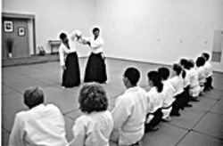 Rough play: Aikido of Scottsdale provides instruction of the Japanese martial art.