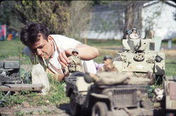 The outsider: Mark Hogancamp and the fi gures of Marwencol.