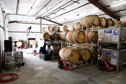 Interior of Four Eight Wineworks, which Maynard James Keenan says is Arizona's first wine co-op.