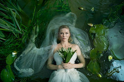 Kirsten Dunst in Melancholia