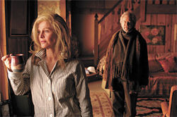 Unforgettable: Julie Christie and Gordon Pinsent struggle with her AlzheimerÂ's disease in Away From Her.