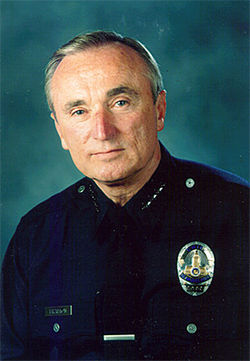 LAPD Chief William Bratton was Gascón's mentor.
