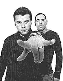 Some guys have all the breaks: The Crystal Method keeps on spinning.