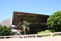 Goodwin and plenty: The Tempe City Hall building.