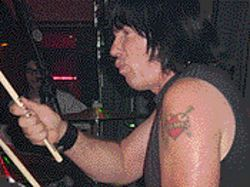 Marky Ramone keeps on pounding the skins.