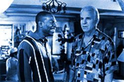 Star tissue: Eddie Murphy and Steve Martin in Bowfinger.