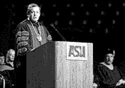 Michael Crow discusses his visions of a new kind of university.