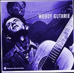 American iconoclast Woody Guthrie: Protest,  commentary and crawdad songs.