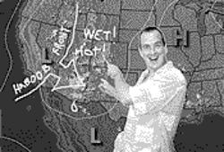 New Times chief meteorologist Robert Nelson.
