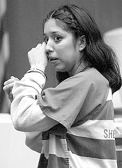 Phoenix's Vanessa Rico, seen here at her September 21 sentencing for negligent homicide, left her babies alone in the bathtub. Her 10-month-old daughter, Valeria, drowned.