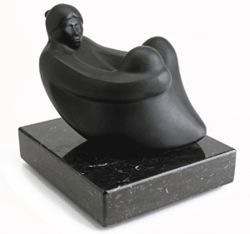 Respite, bronze, 1985