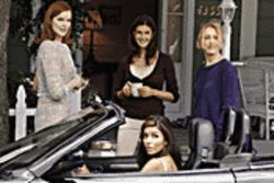 Desperately chic: ABC's Housewives release their first season.