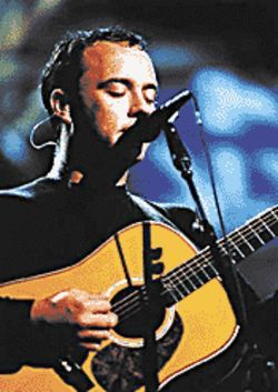 Dave Matthews performs at Cricket Pavilion August 24.