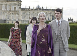 Chill factor: Emma Thompson stars as the icy mother in Brideshead Revisited.