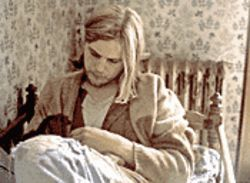 Cinematic nirvana: Michael Pitt does a fair Kurt Cobain impersonation in Last Days.