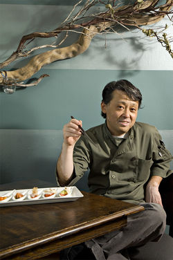 Nobuo Fukuda, one of the state's most esteemed chefs, brings craft cocktails, Japanese microbrews, sharable Japanese tapas, and addicting sashimi bites to downtown.