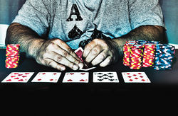 The cops occasionally bust a non-tribal Phoenix-area poker room, but the businesses continue to flourish.